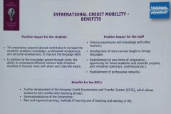 International Credit Mobility - benefits