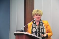 Prof. Madeleine Danova, Dean, Faculty of Classical and Modern Philology